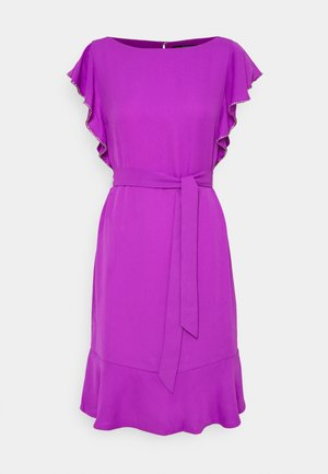 ROMANTIC DRAPY - Day dress - magenta lust