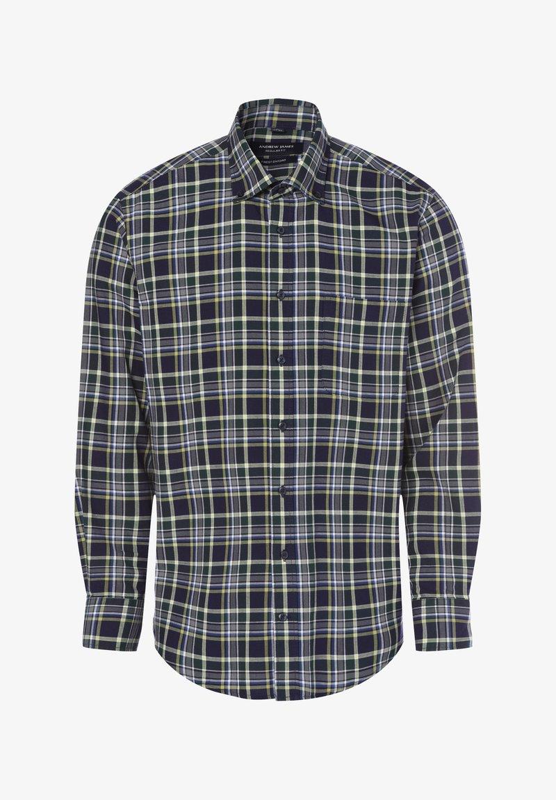 Andrew James - Shirt - tanne marine