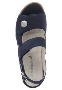 Waldläufer - HELIETT - Sandals - blau - 1