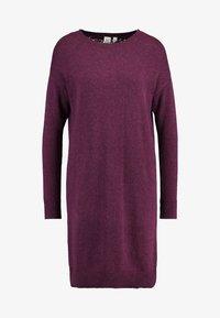 GAP - V-SHIFT DRESS - Strickkleid - plum heather - 5