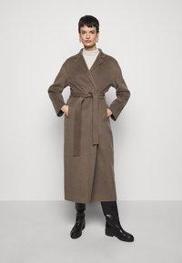 Filippa K - ALEXA COAT - Classic coat - dark taupe - 0