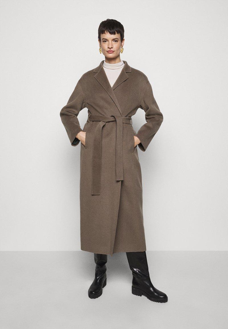 Filippa K - ALEXA COAT - Classic coat - dark taupe