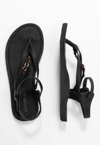 O'Neill - BATIDA COCO - T-bar sandals - black out - 3