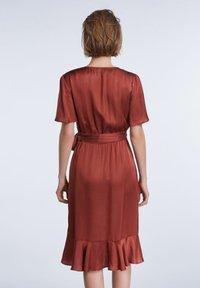 SET - Day dress - terracotta - 2
