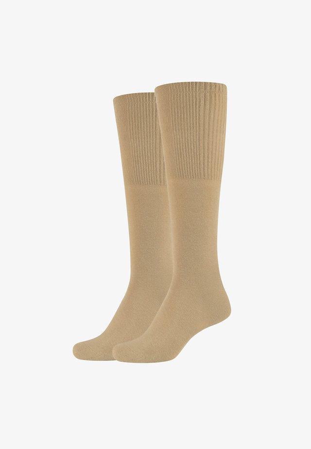 GRACE - Knee high socks - gold