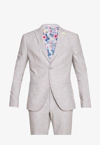 Isaac Dewhirst - PLAIN WEDDING - Oblek - grey - 11
