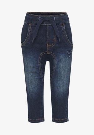 HMLLEO - Jeans Straight Leg - dark denim