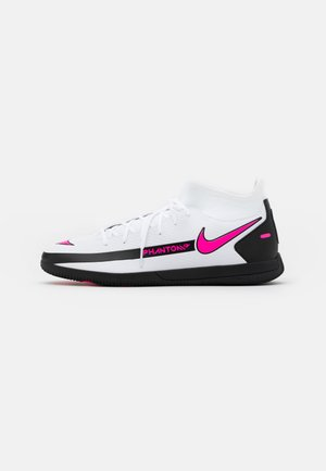 PHANTOM GT CLUB DF IC - Zaalvoetbalschoenen - white/pink blast/black