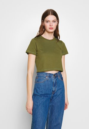 THE BABY TEE - Print T-shirt - winter moss