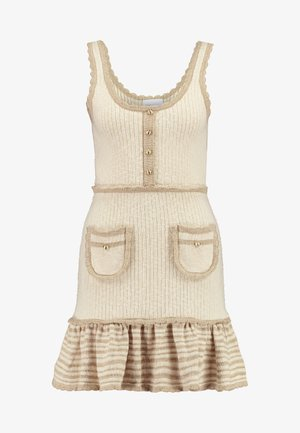 HEAVEN HELP MINI DRESS - Jumper dress - crème