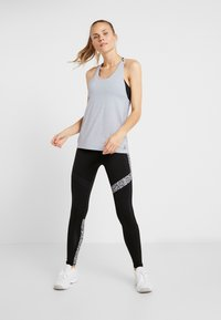 Reebok - TANK - Sports shirt - denim dust - 1