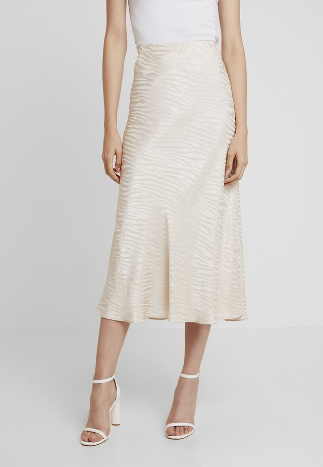 THE KAT MIDI SKIRT - Gonna lunga - sand