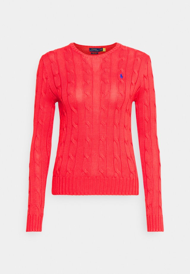 CLASSIC - Sweter - coral