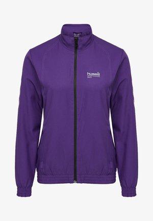 TERINA - Training jacket - dark purple