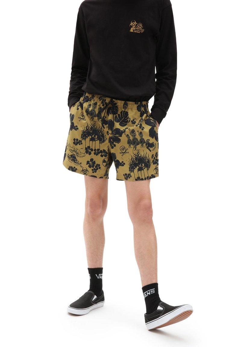 Vans - MN MIXED VOLLEY - Shorts - dark aloha