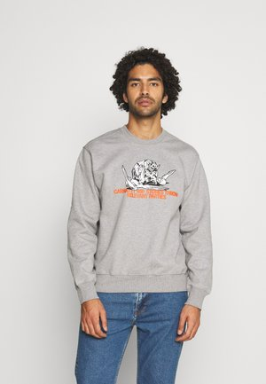 STONES THROW - Sweatshirt - grey heather