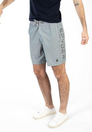 STRIPED - Zwemshorts - grey