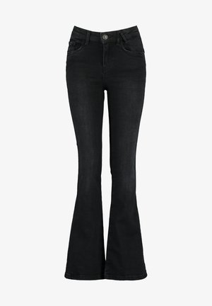 EMILY FLAR JR - Flared Jeans - washed black