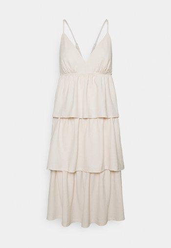 VMKIMBER SINGLET KNEE DRESS - Day dress - birch