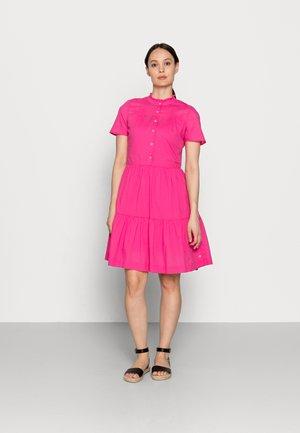 VOILE KNEE DRESS - Shirt dress - pink