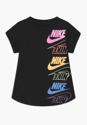 MULTI FUTURA - Print T-shirt - black