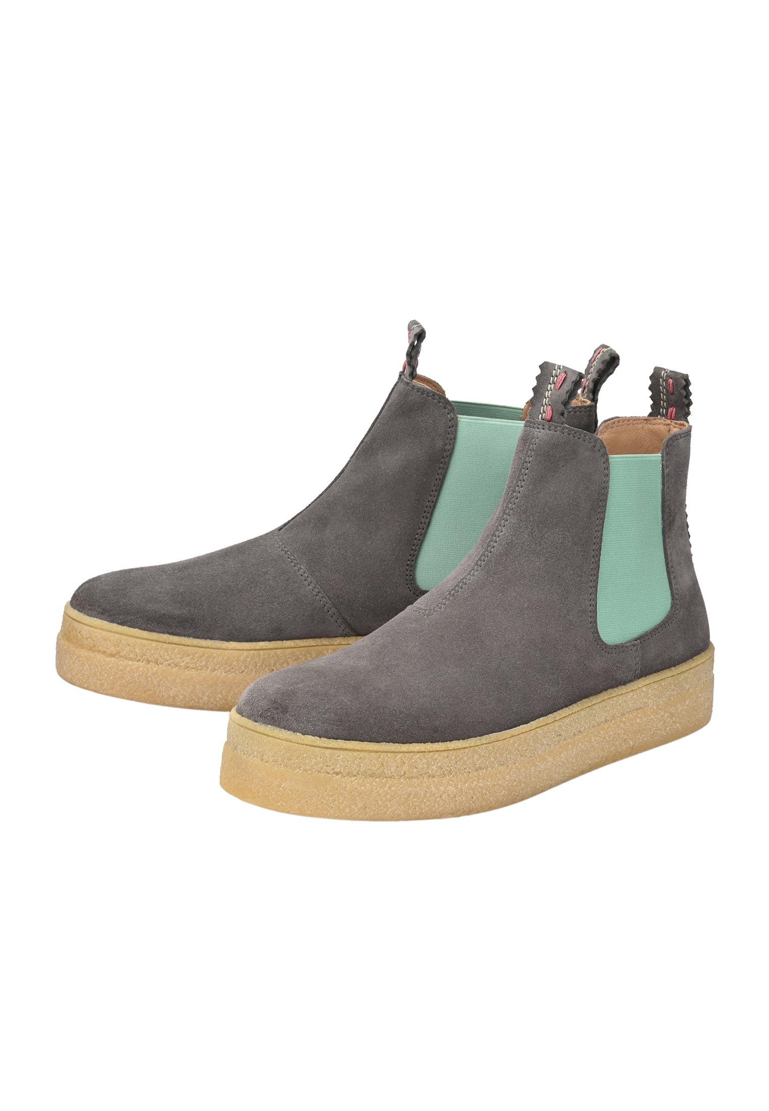 Crickit Chelsea Boot Janne - Ankelstøvler Grau Mint