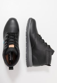 Boxfresh - BROWNDALE - Lace-up ankle boots - black - 1