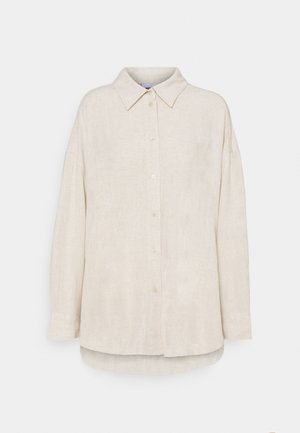 JAN - Button-down blouse - beige