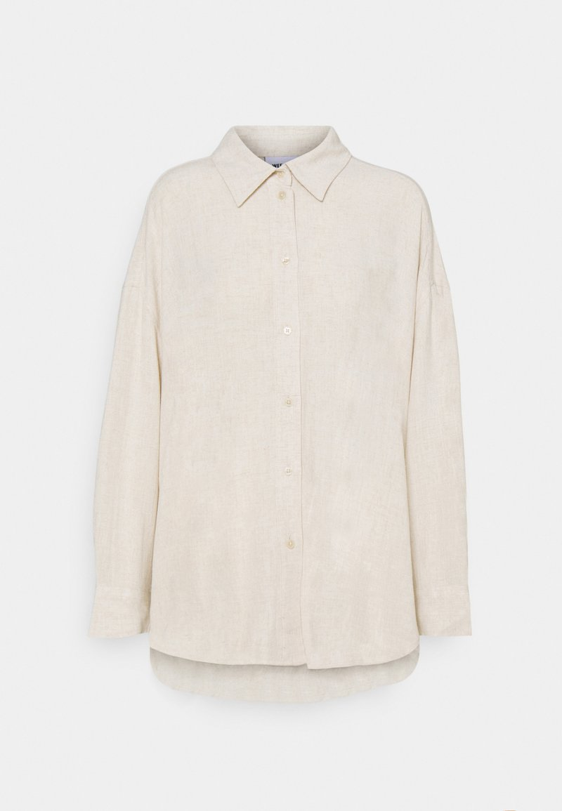 Weekday - JAN - Skjorta - beige