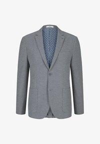 TOM TAILOR - Blazer jacket - grey melange structure - 4
