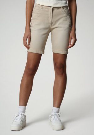 Jeansshort - natural beige
