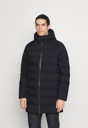 OSVALD LONG DUFFER - Down coat - anthracite black