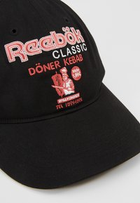 Reebok Classic - GRAPHIC FOOD - Cap - black - 6