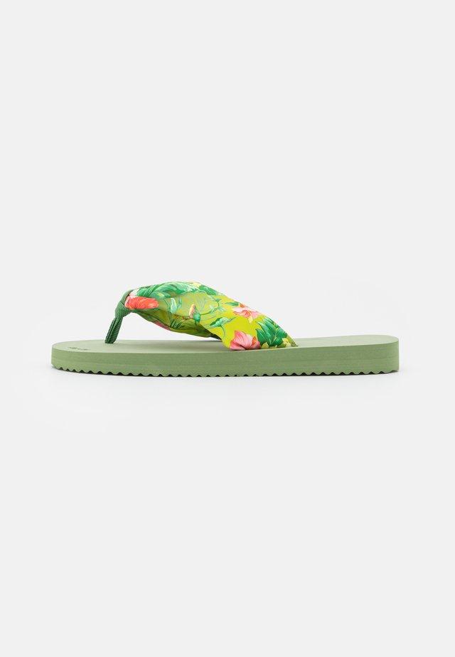 TUBE TROPICS - T-bar sandals - sage