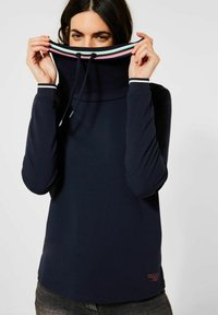 Cecil - Long sleeved top - blau - 0