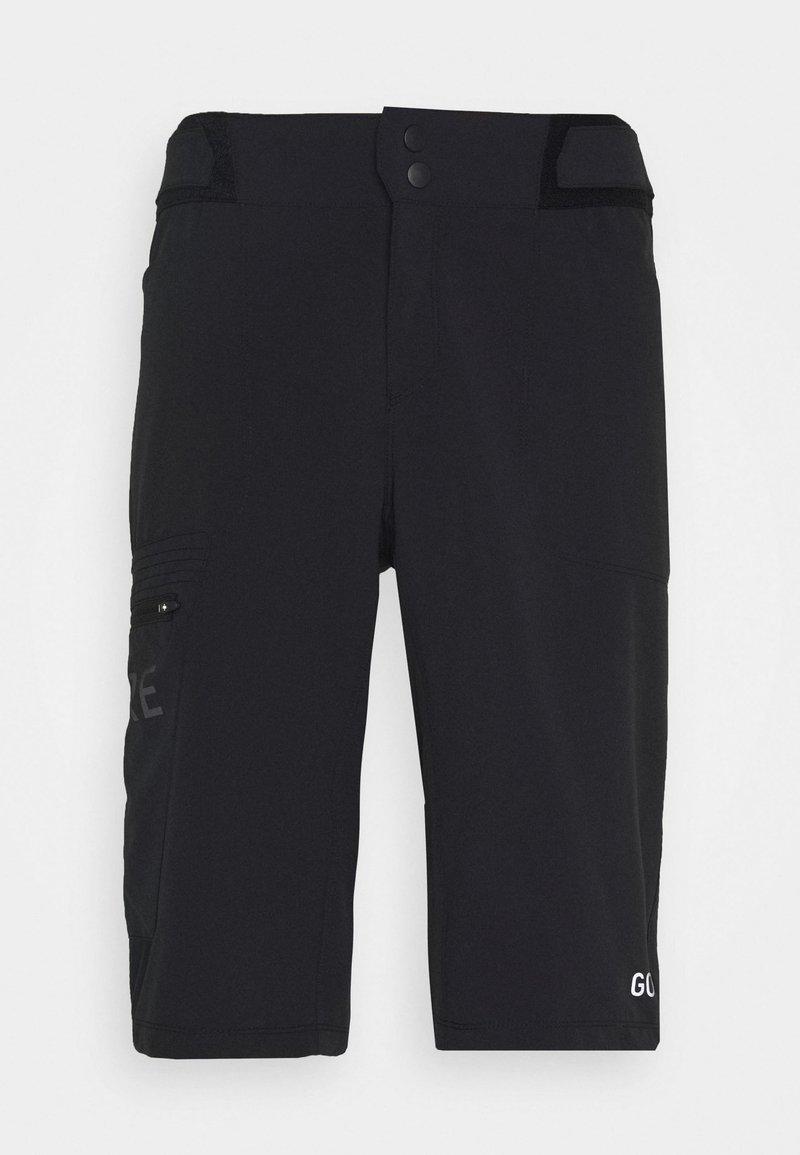 Gore Wear - WEAR PASSION SHORTS MENS - kurze Sporthose - black