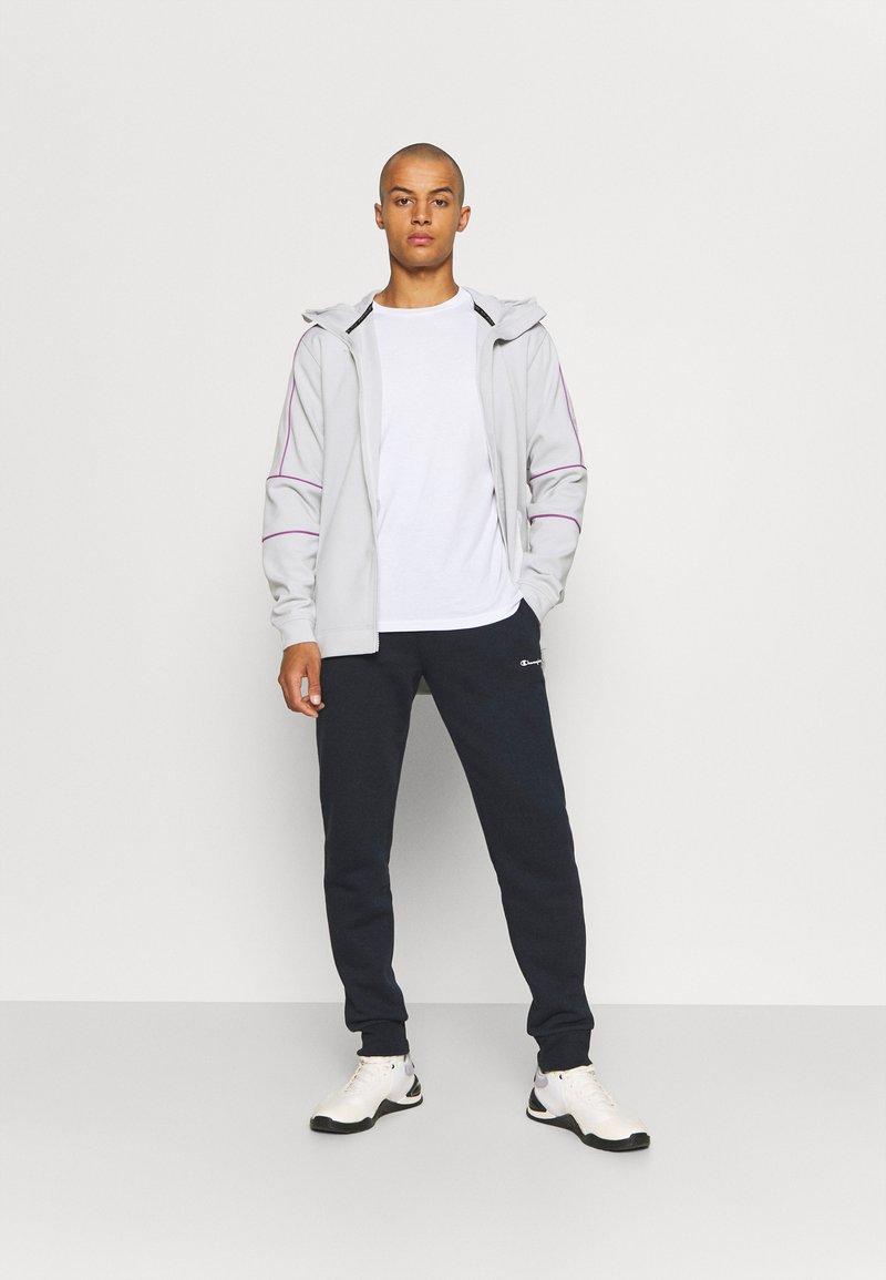 Champion - CREW NECK 2 PACK - Basic T-shirt - white/navy