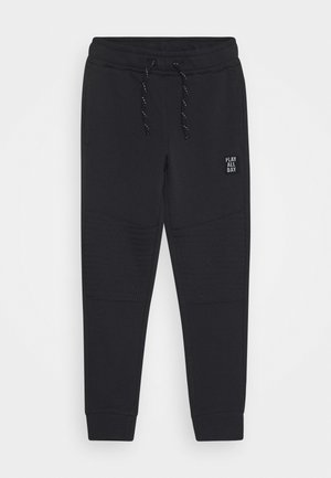 MINI TROUSERS ESSENTIALS - Tracksuit bottoms - off black