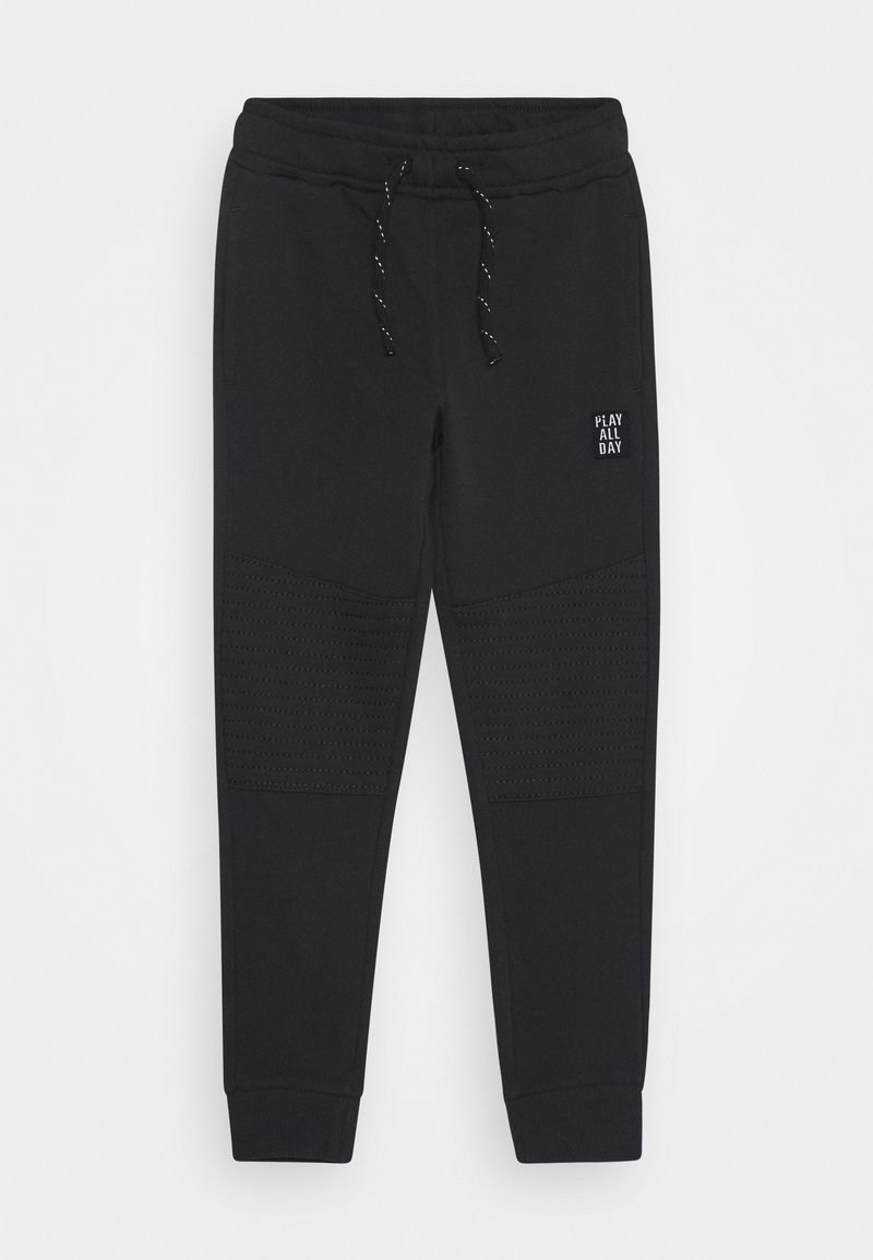 Lindex - TROUSERS ESSENTIAL - Tracksuit bottoms - off black