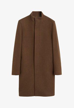 FUNNEL - Classic coat - mittelbraun
