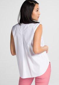 Eterna - PREMIUM - Button-down blouse - white - 1