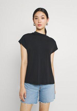VICATHRINE FUNNEL NECK - Basic T-shirt - black