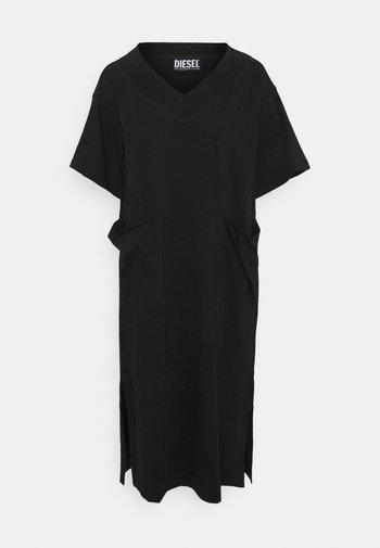 WORKIE - Jersey dress - schwarz