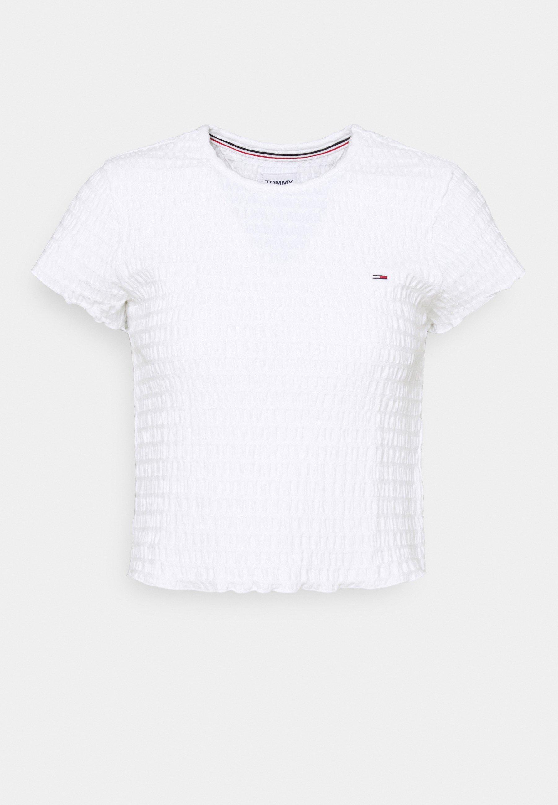 Damen CROP SMOCK TEE - T-Shirt print