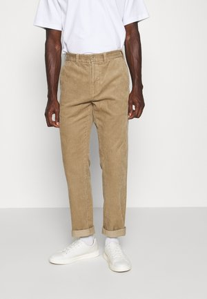 CHINO - Trousers - beige medium dusty