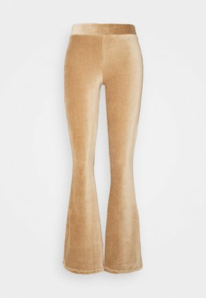 NMALBA FLARED PANT - Trousers - tigers eye