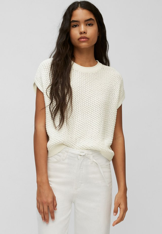 T-shirt con stampa - scandinavian white