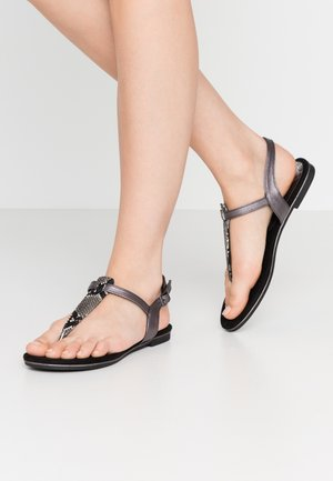 T-bar sandals - dark grey