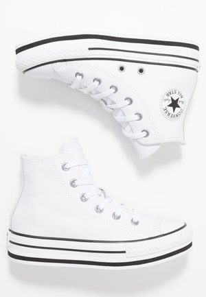 CHUCK TAYLOR ALL STAR PLATFORM - Zapatillas altas - white/black