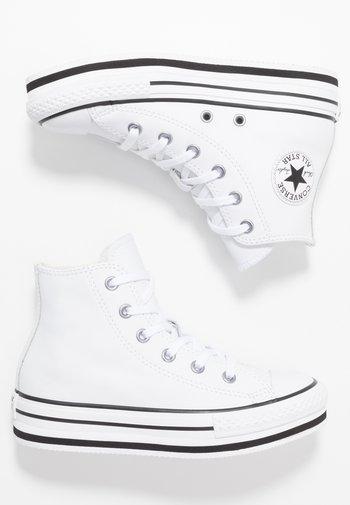 CHUCK TAYLOR ALL STAR PLATFORM - Sneakers hoog - white/black